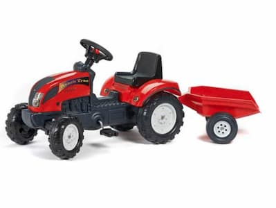 Falk-Ranch-Trac-rode-traptractor-incl.-aanhanger-