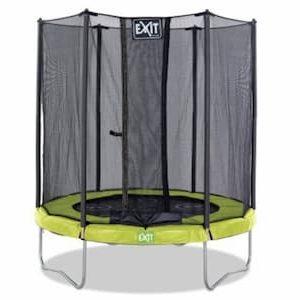 EXIT Twist trampoline 244cm - groen:grijs