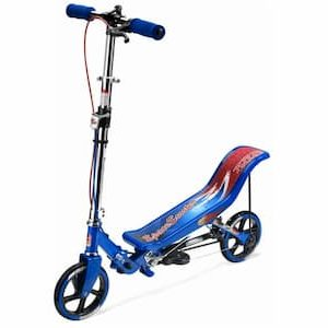 Space Scooter Blauw - Step