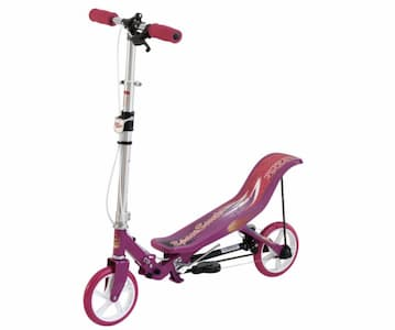 Space Scooter Roze:Wit - Step