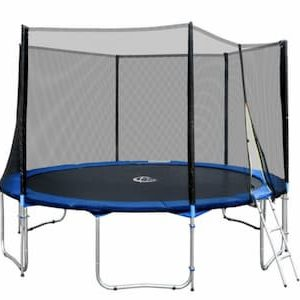 TecTake - trampoline - Outdoor-trampoline - 396 cm
