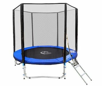 Tectake trampoline 244 cm met veiligheidsnet en ladder